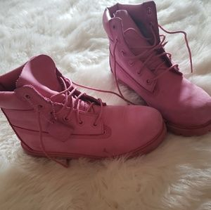 Timberland Shoes - Timberland Pink